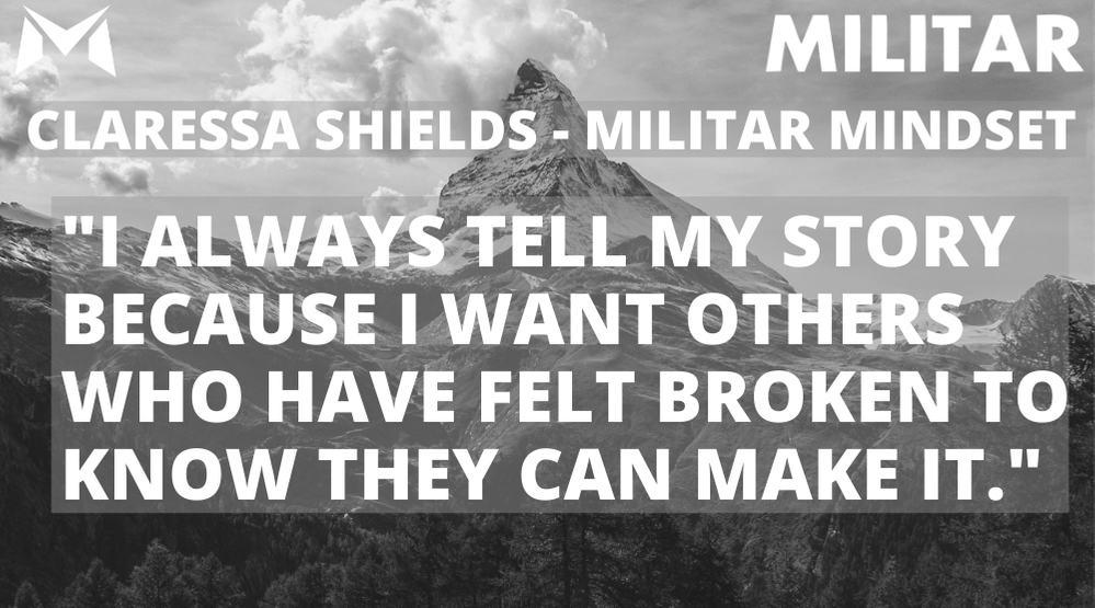 Claressa Shields- MILITAR MINDSET